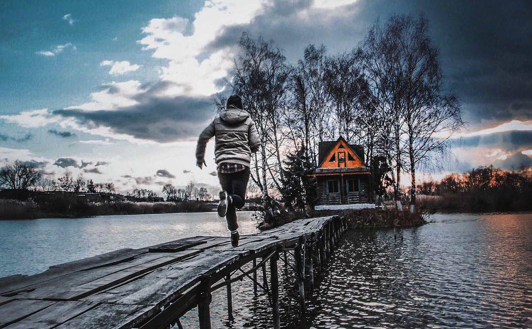 село Старий Солотвин, Житомирщина, острів Кохання