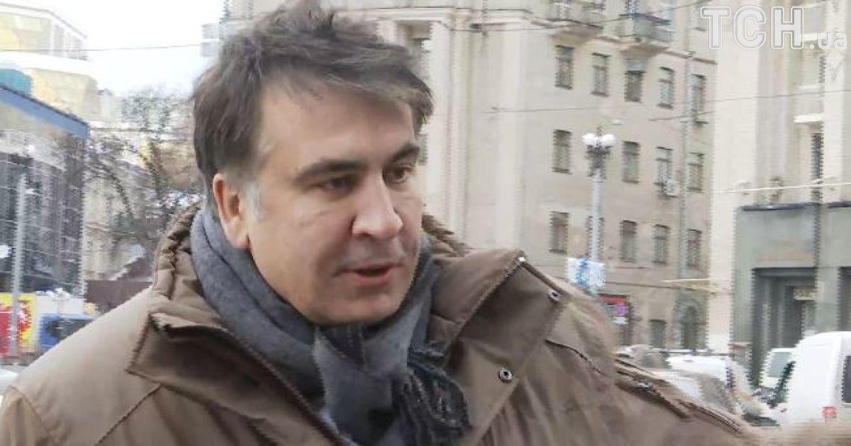 """Саакашвили вышел из VIP-терминала аэропорта Варшавы и назвал действия украинских силовиков """"похищением"""""""