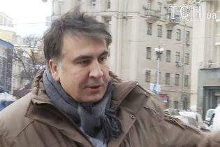 """Саакашвілі вийшов із VIP-терміналу аеропорту Варшави і назвав дії українських силовиків """"викраденням"""""""