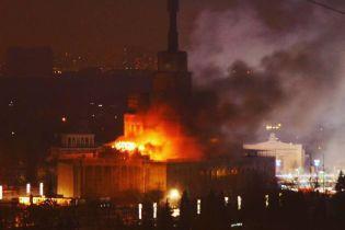 У Москві посеред ночі палав головний корпус ВДНГ