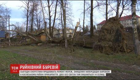 Косовский район на Прикарпатье оправляется от вчерашнего урагана