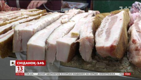 Почему в Украине существенно выросли цены на сало