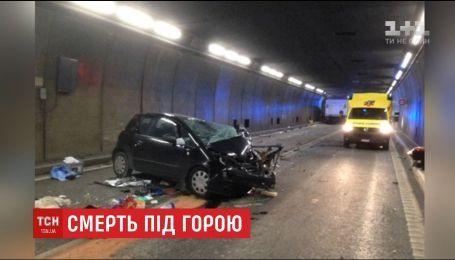Одна із найжвавіших магістралей Європи кілька годин була заблокована через смертельну ДТП