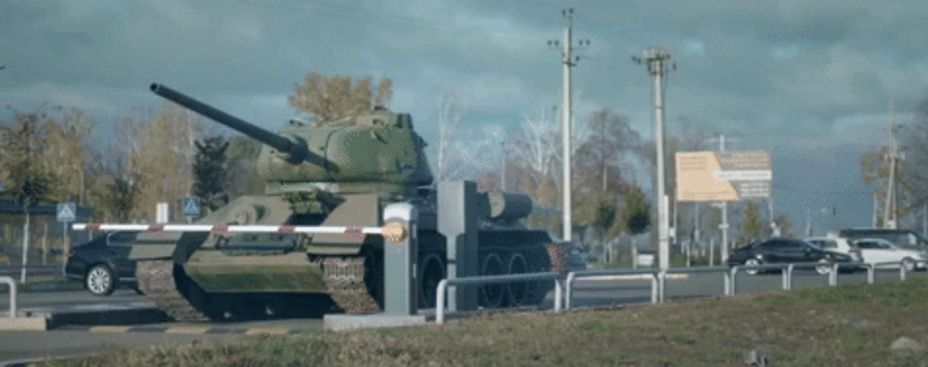 Под Киевом сняли новую рекламу для игры World of Tanks