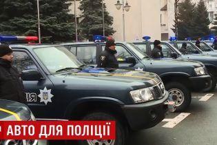 Евросоюз передал украинским копам 30 джипов из Косово
