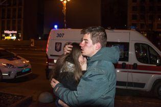В центре Киева сотрудники пиццерии избили до крови своих посетителей
