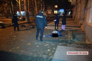 В Николаеве посреди города погиб военнослужащий