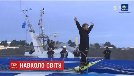 Француз на своей яхте оплыл планету всего за 42 дня