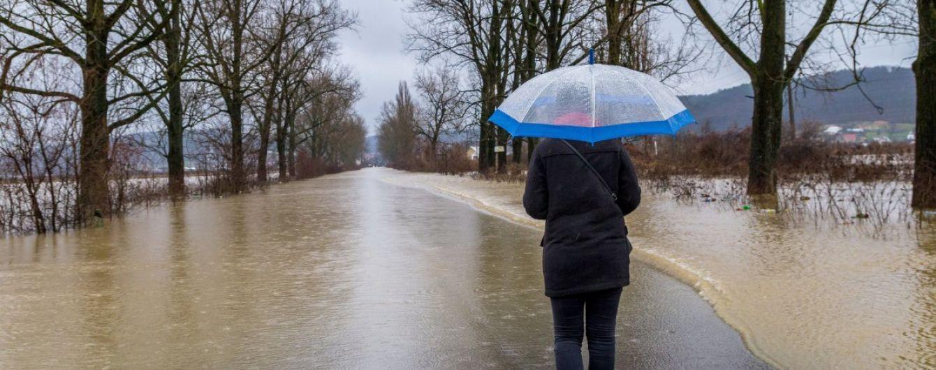 Синоптики попереджають про підйоми рівнів води на річках