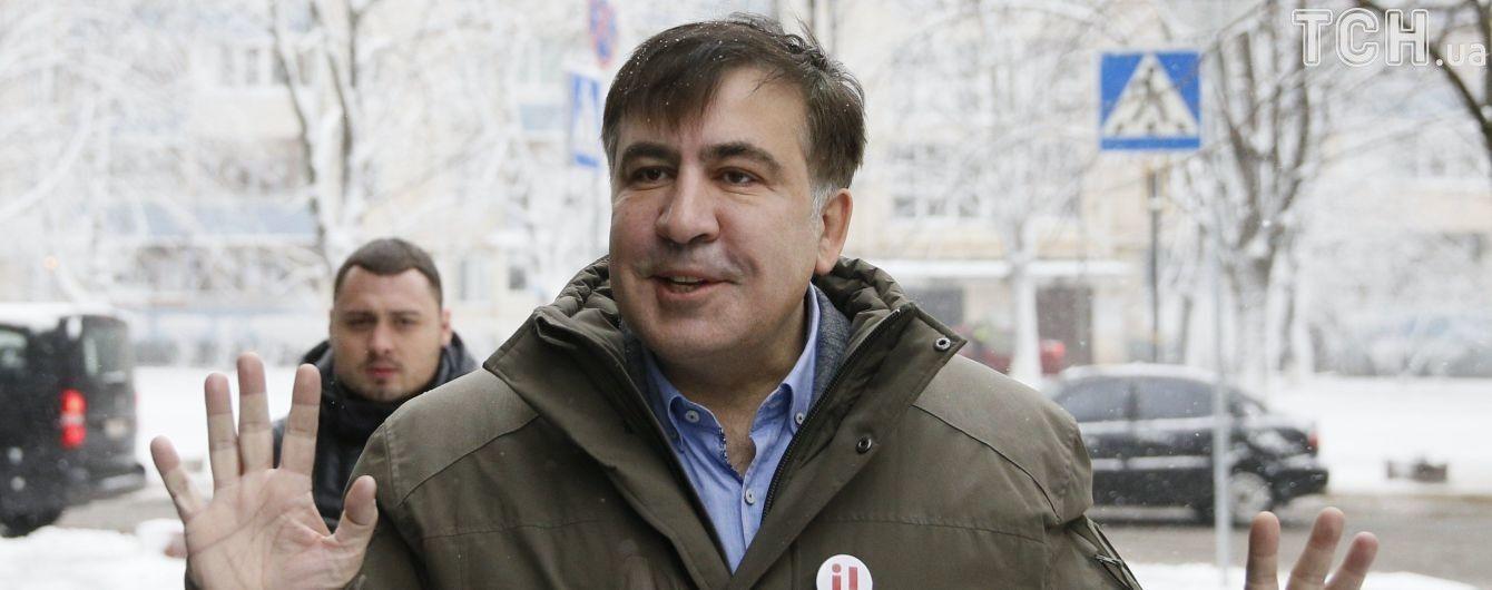 Омбудсмен проверит, нарушались ли права Саакашвили во время выдворения