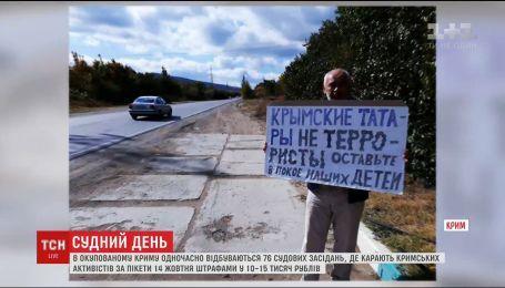 Репресивний конвейєр в Криму штампує обвинувальні вироки та карає штрафами кримців