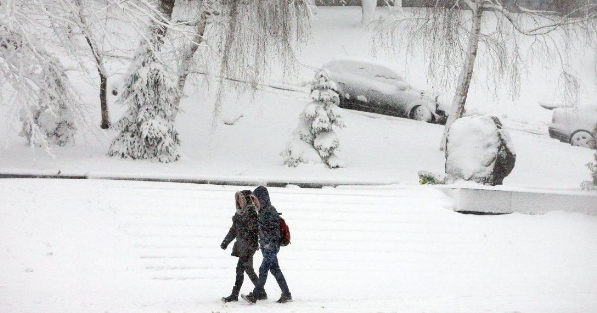 Синоптики обещают до конца недели снег и гололед. Прогноз на 21-25 декабря