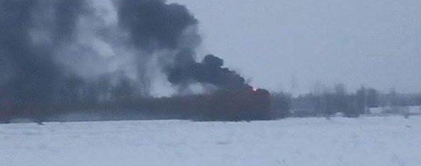 На Киевщине вспыхнул пожар на нефтебазе, которая мощно горела два с половиной года назад