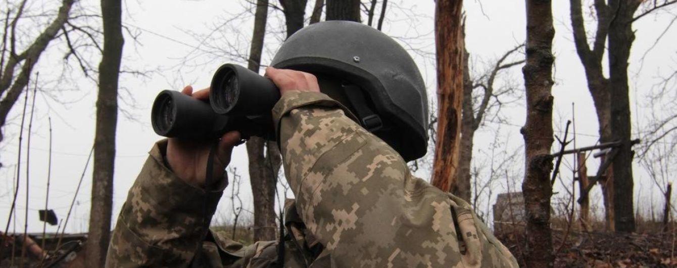 Бойовики один раз обстріляли українських військових напередодні Різдва