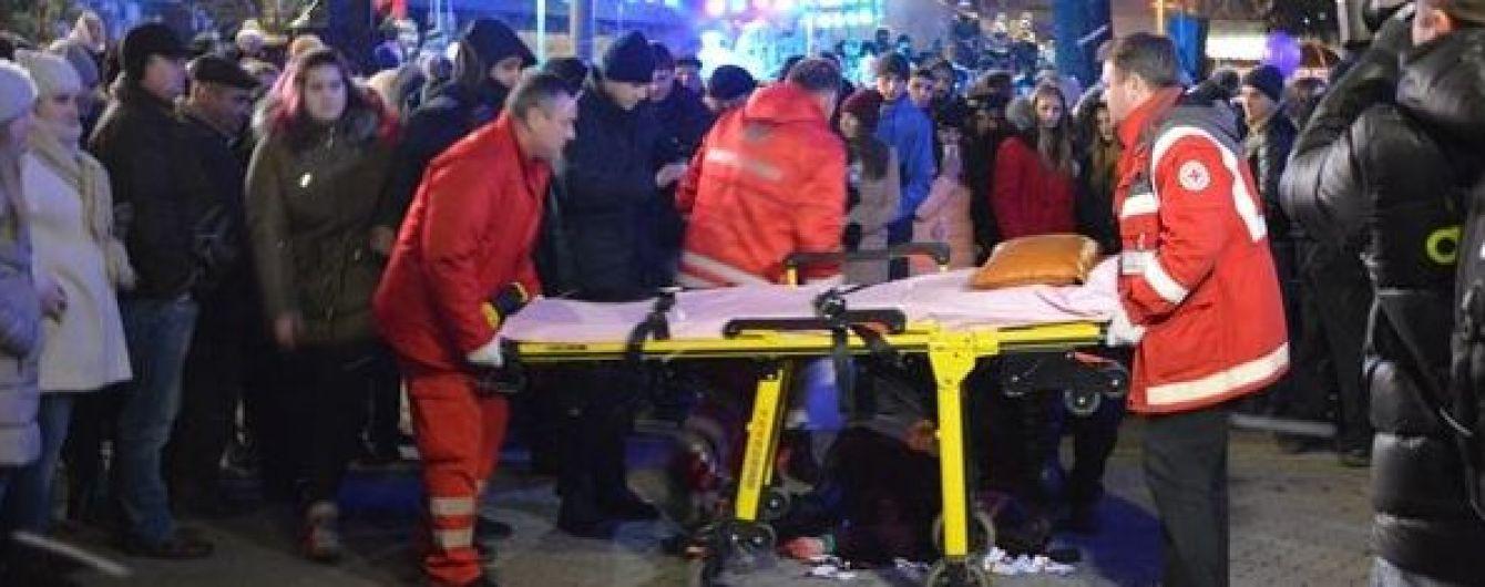 """""""Кров аж пульсувала"""": очевидці повідомили страшні подробиці травмування студентки на відкритті головної ялинки Прикарпаття"""