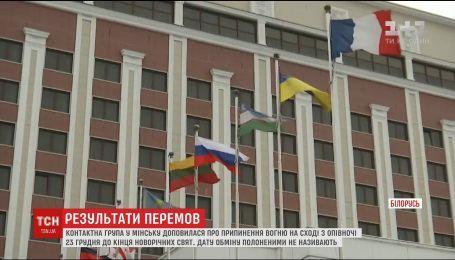 Обмін полоненими і святкове перемир'я: про що домовилась контактна група в Мінську