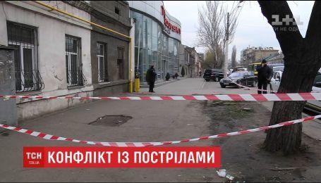 Конфлікт між двома групами людей в Одесі закінчився стріляниною