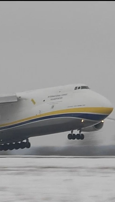 """Знаменитий на увесь світ літак """"Руслан"""" відзначає своє 35-річчя"""