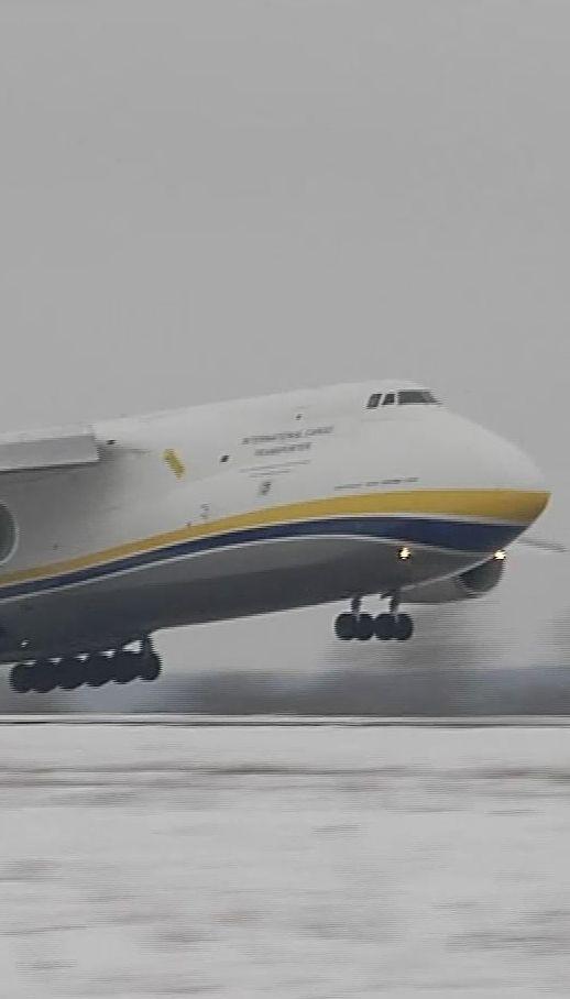 """Знаменитый на весь мир самолет """"Руслан"""" отмечает свое 35-летие"""