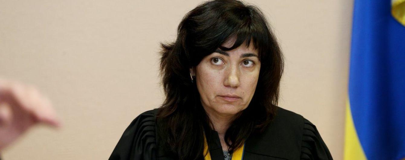 Адвокатский майдан: украинские юристы встали на защиту судьи, которая отпустила Саакашвили