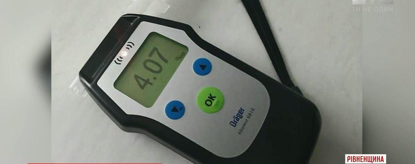 Суд у Львові анулював протокол за п'яне водіння екс-поліцейського через спрей від кашлю