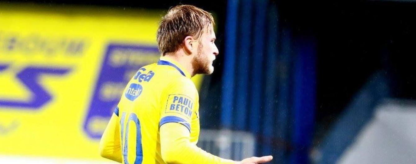 Украинский футболист застал врасплох вратаря ударом со штрафного в Бельгии