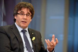 Пучдемон не будет выдвигать свою кандидатуру на должность главы Каталонии