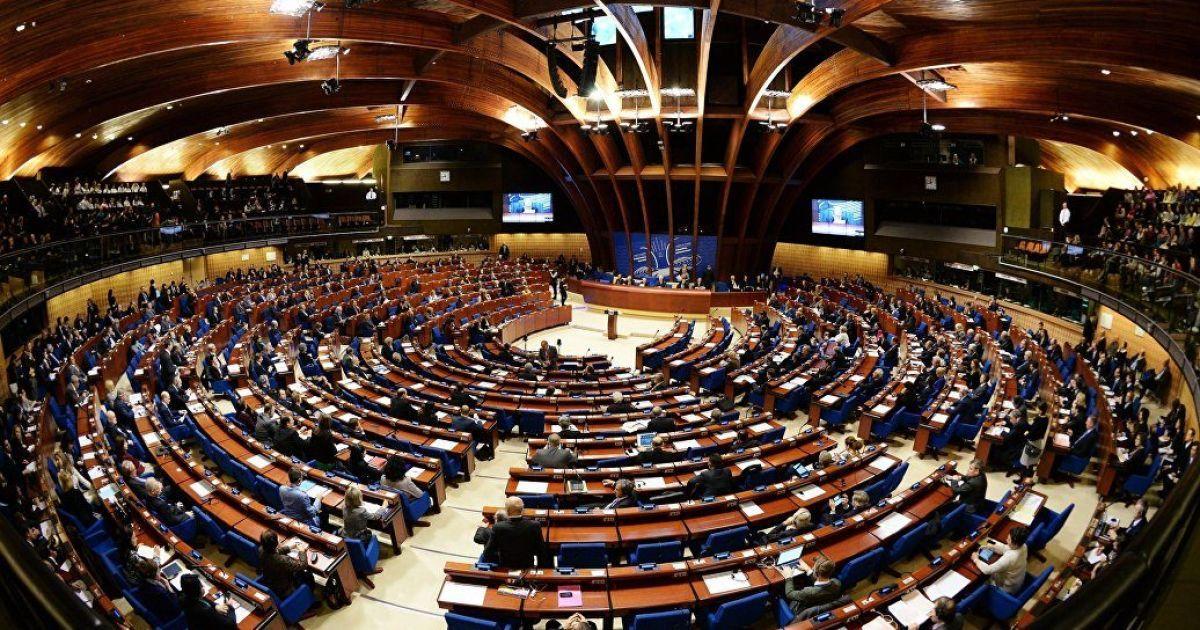 К проекту резолюции ПАСЕ включено требование об освобождении украинских заключенных Кремля