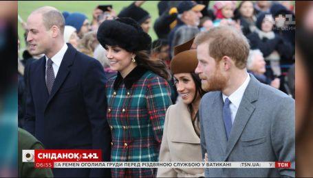 Меган Маркл посетила праздничную службу вместе с королевской семьей