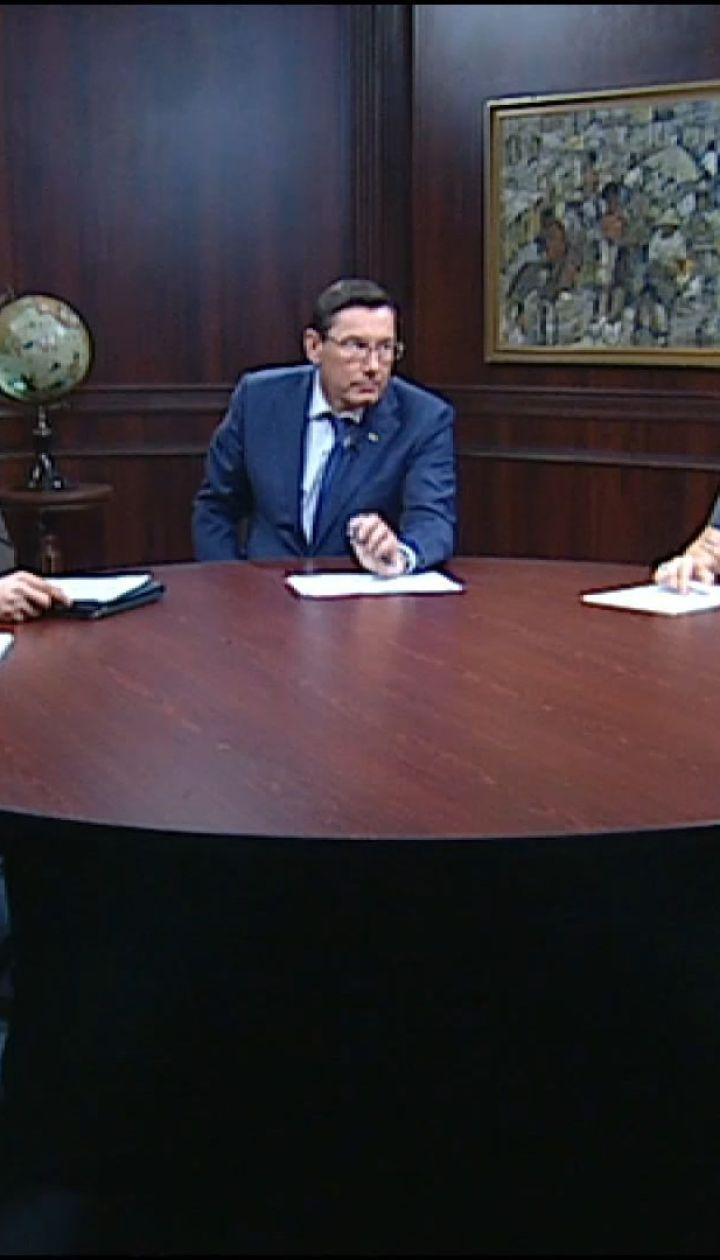 Генпрокурор розповів про хід справи Саакашвілі та про плани на наступний рік