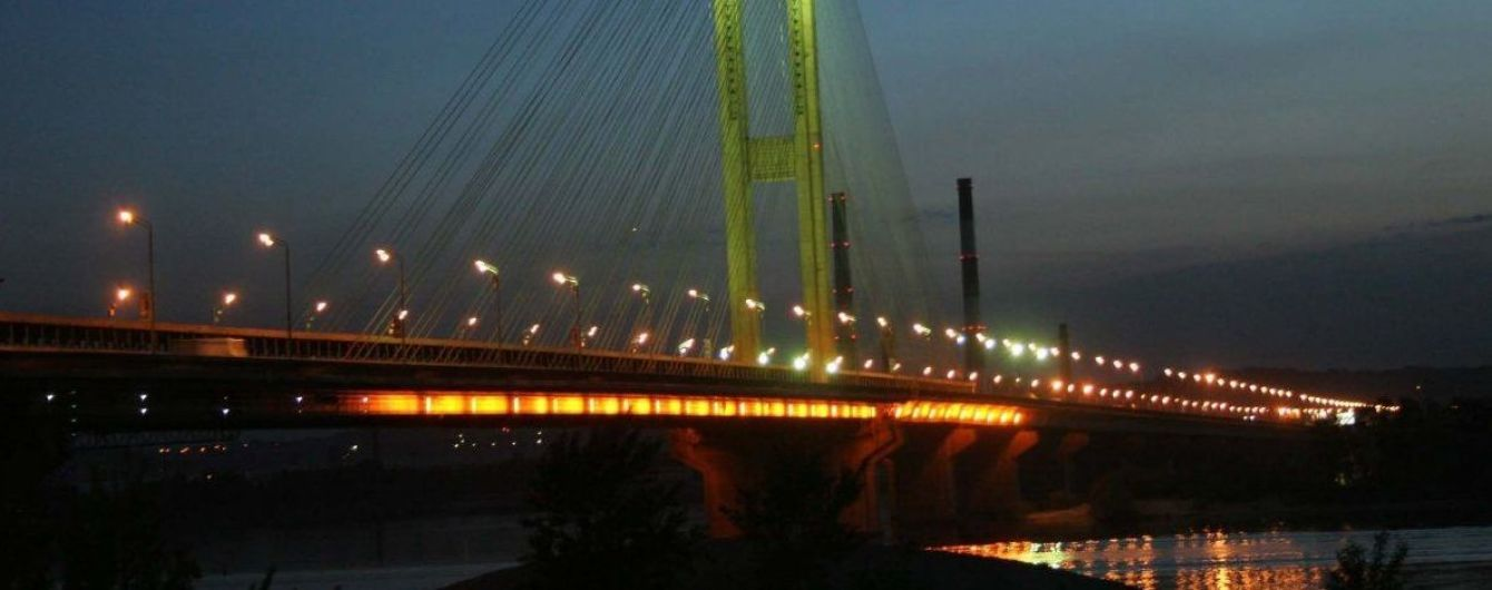 У Києві частково обмежать рух Південним мостом