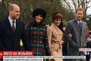 Первое фото нового состава королевской семьи Британии может обогатить случайную женщину-фотографа