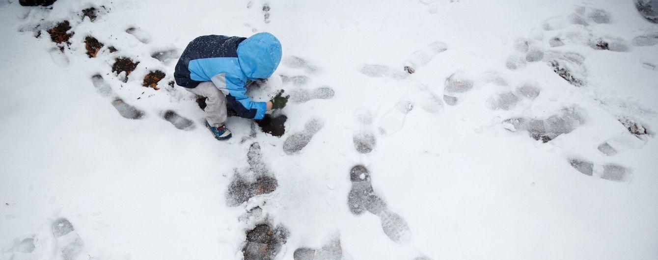 В самом южном штате США впервые за 29 лет выпал снег