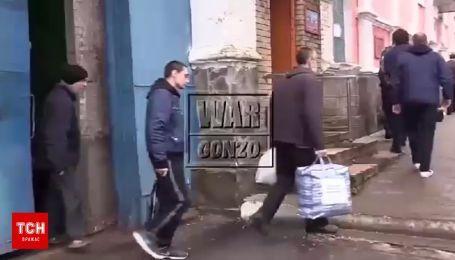 Луганские боевики показали украинских заложников, которых готовят на обмен