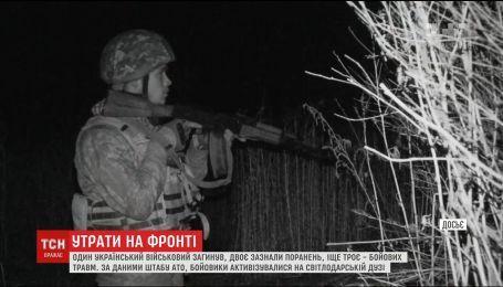 Боевики ведут прицельный огонь на Светлодарской дуге