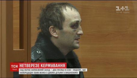 Суд обрав запобіжний захід водієві, що збив жінку з двома дітьми у Вишневому