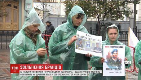 На другому етапі обміну полоненими планують повернути ще 29 українців