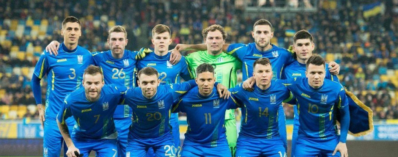 Стало відомо, де збірна України проведе домашній матч Ліги націй