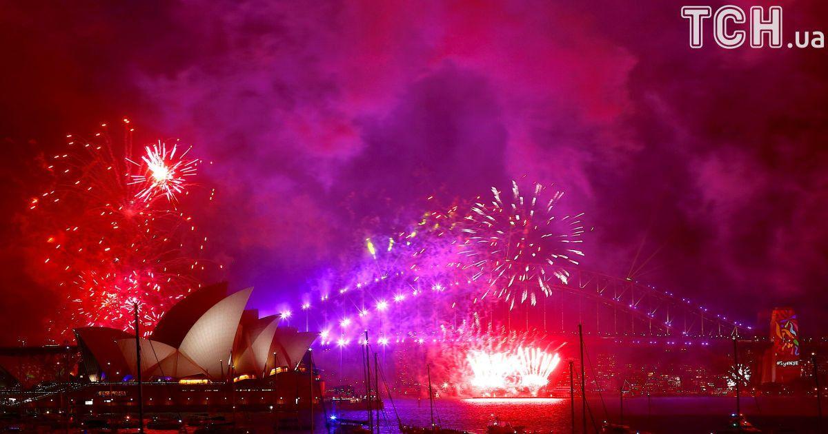 Салют над Сиднеем @ Reuters