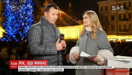 Мужчина, который спас маленькую девочку при взрыве автомобиля на Бессарабке, поздравил Украину