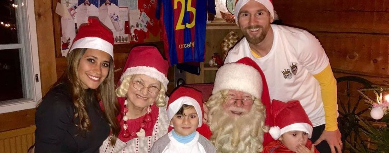 В семейном кругу или с друзьями: как футбольные звезды праздновали Новый год