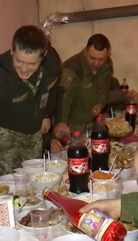 Новый год на фронте: как военные встретили 2018-й