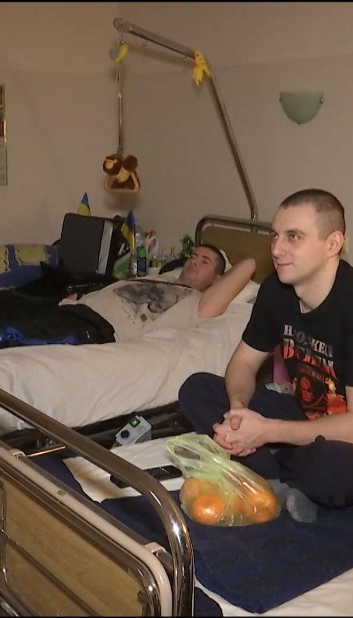 Освобожденные заложники встретили Новый год в военном госпитале