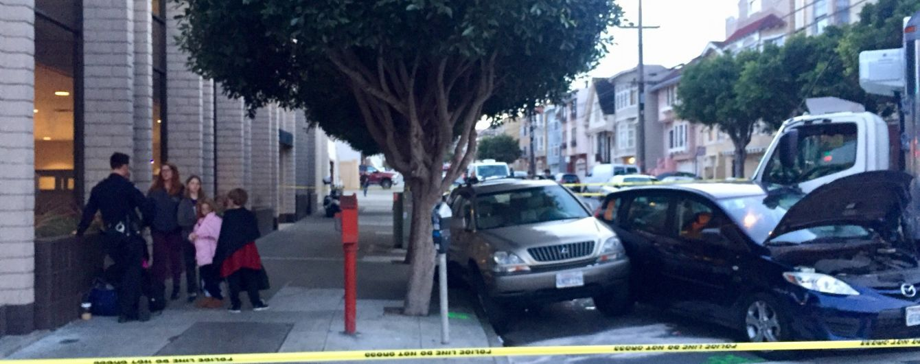 В Сан-Франциско фура наехала на нескольких пешеходов