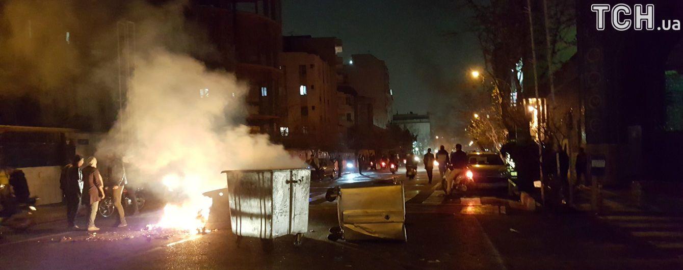 В Иране военные заявили о прекращении антиправительственных акций