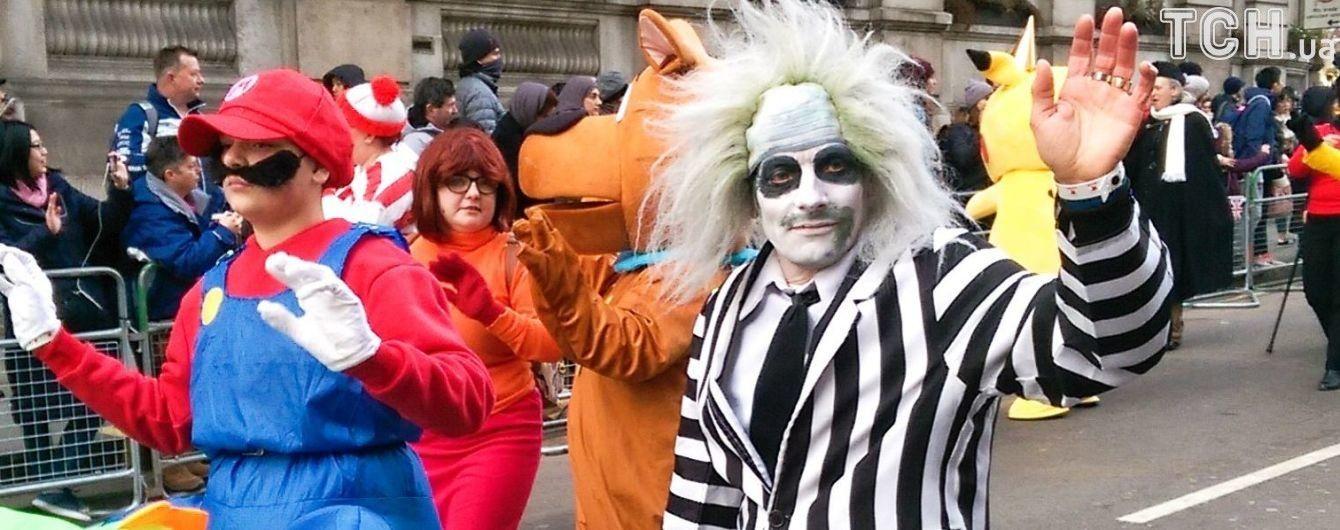 Новорічний парад у Лондоні: містом пройшлися тисячі фантастичних персонажів та музикантів