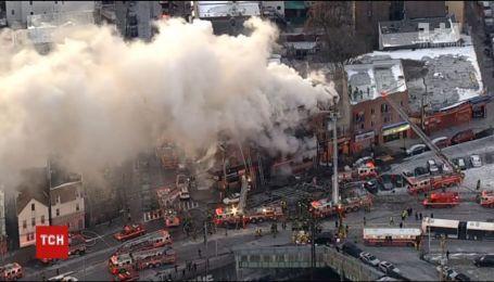 Велика пожежа у Нью-Йорку. У районі Бронкс горить багатоповерхівка