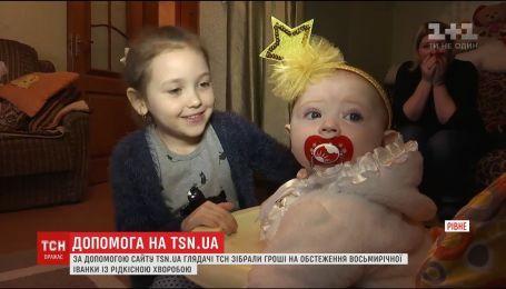 Рождественского чуда требует 8-летняя Иванка из Ровно