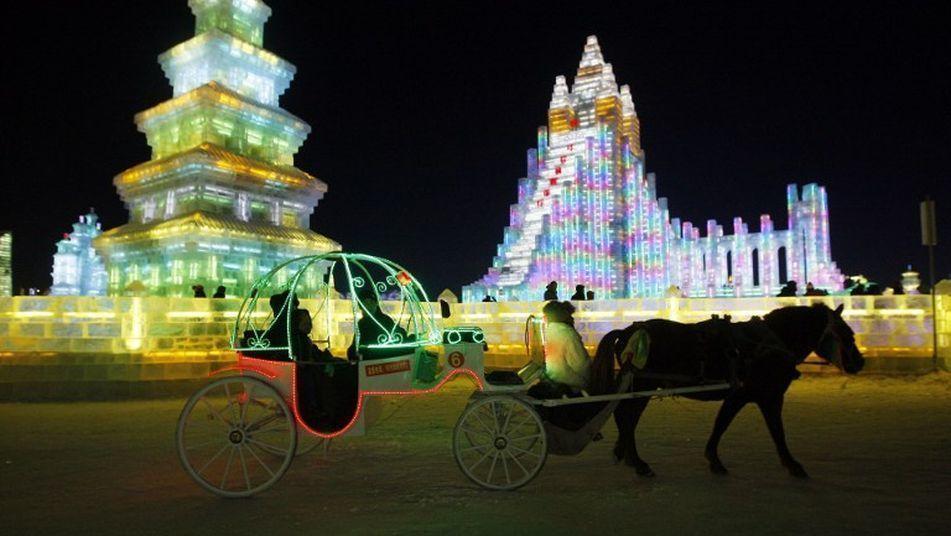 Міжнародний фестиваль льоду та снігу в Китаї_2