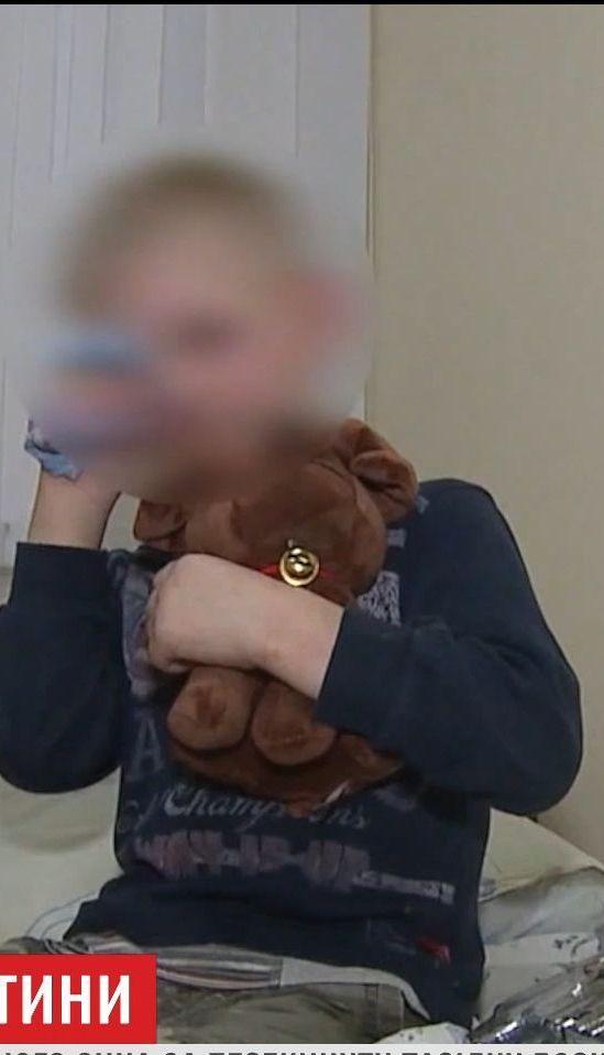 У Вінниці мати побила дитину до крові через перекинутий борщ